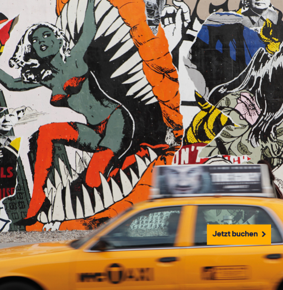 New York inkl. Graffiti- und Street Art Tour